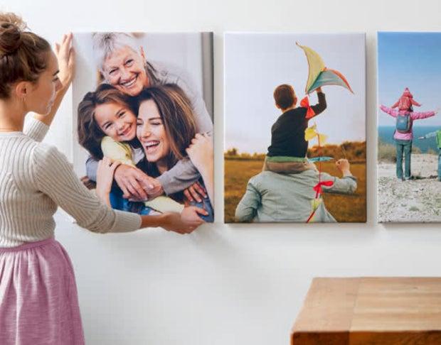 Картины по фото на дереве или холсте